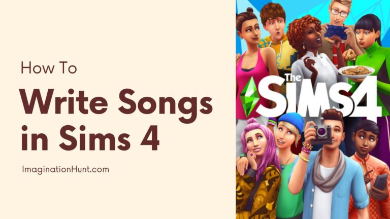 How to Write Songs in Sims 4