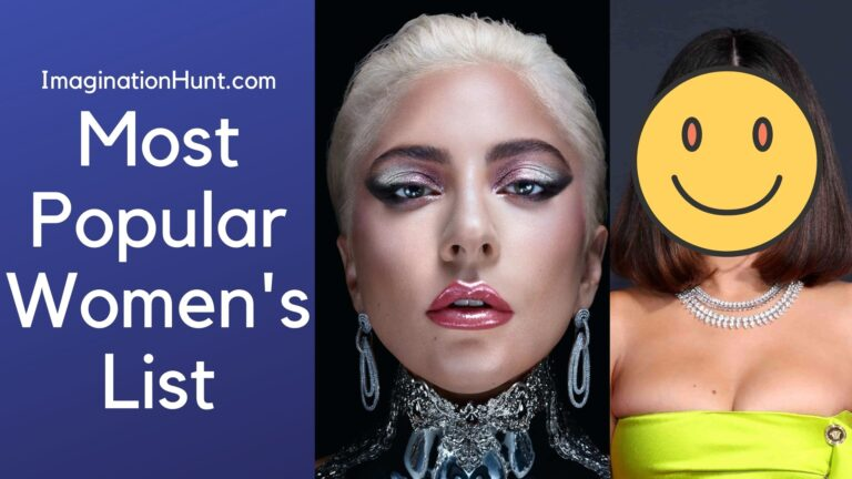 Most Popular Womens
