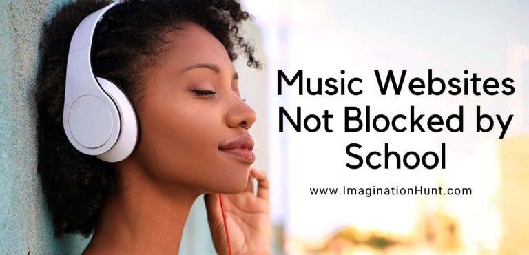Music Websites Not Blocked by School