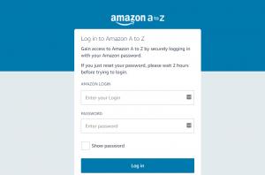 Amazon Work Hub