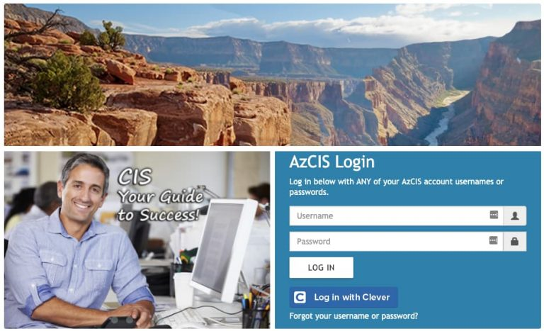 AZCIS Intocareers Org Login
