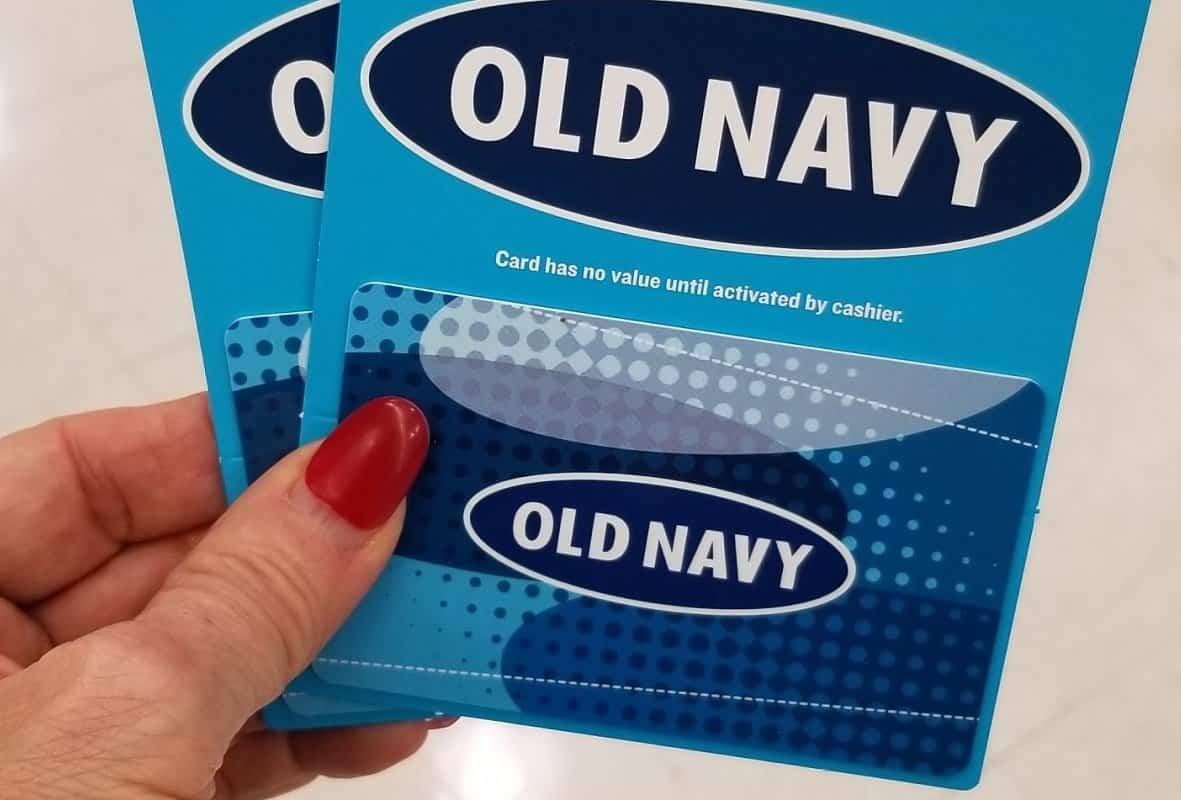 Old Navy Gift Card Balance