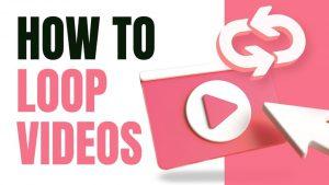 Loop YouTube Video on iPhone